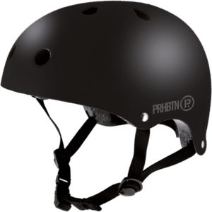 Casque-skate-prohibition-matte-black