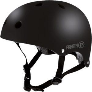 Casque-skate-prohibition-matte-black
