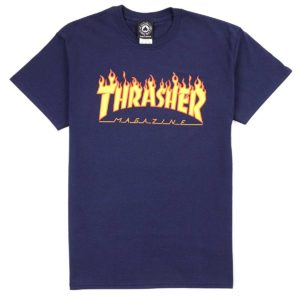 thrasher-Flame_T_Shirt-navy-1