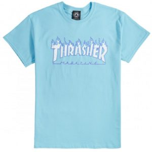 t-shirt-thrasher-flame-sky-blue