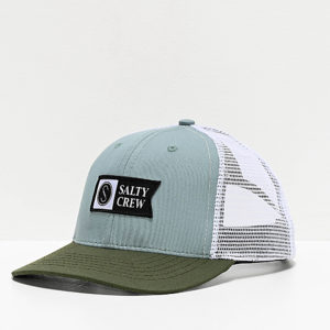 Salty-Crew-Pinnacle-Retro-Mist-&-Olive-Trucker-Hat-_323235-front-US